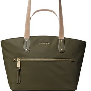 Michael Kors Polly Zip Top Nylon Tote